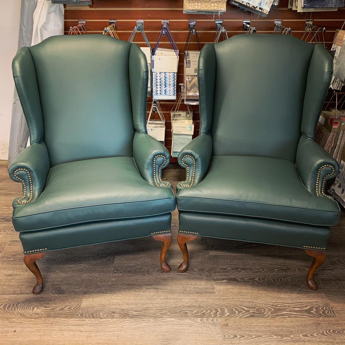 leather wing chairs residential upholstery
