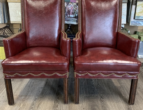 Leather Nail Chairs