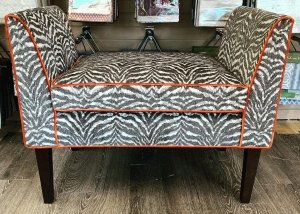 custom upholstered bench