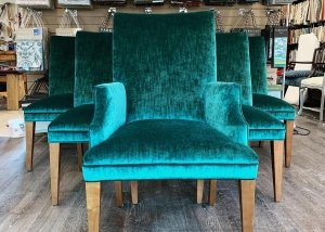 emerald upholstered chairs