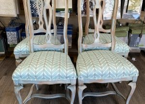 residential upholstery dining chairs